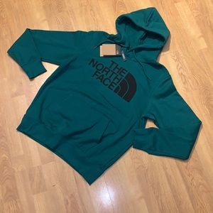 NWT The North Face Half Dome Pullover Hoodie Green